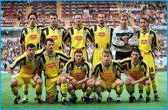 Lazio 1999 Campeon de la Recopa de Europa