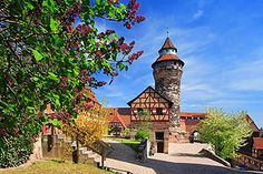 Image detail for -Sights Nuremberg: the Castle in the city center. It's one of the most ...