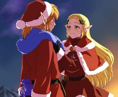 A Hyrule Christmas - This is pretty adorable.