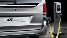 Mercedes V-Class Plugin-Hybrid Concept V-ision e - YouTube