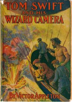 Tom Swift is a series that has been passed on for each generation of Appletons to write, to be pertinent for their generation.