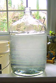 Want to know a secret way to sanitize your carboys? Find out what you can do to keep your carboys clean! Homemade Wine Recipes, Homemade Liquor, Homemade Alcohol, Brewing Recipes, Beer Recipes, Recipies, Homebrew Recipes, Drink Recipes, Wine And Liquor
