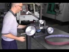 ▶ KMG Belt Grinder from Beaumont Metal Works, Inc - YouTube