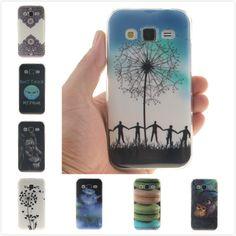 Cajas del teléfono celular para Samsung Galaxy Core Prime G360 G361 SM G360H G360F G361H G361F silicona suave piel del TPU nuevo caso de la cubierta