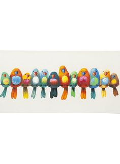 Birds of a Feather Wall Decor: