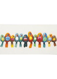 Birds of a Feather Wall Decor: