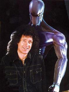 Brian May (cyborg) Freddie Mercury, Queen Guitarist, Best Guitarist, John Deacon, Arena Rock, Queen Brian May, Roger Taylor, Queen Love, British Rock