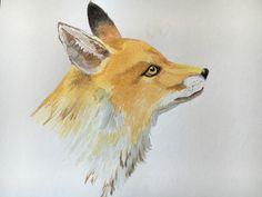 Fox - Watercolor