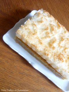 Gâteau à la Noix de Coco et à la Gelée de Coing