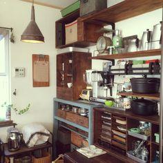 ホーロー缶/コーヒーミル/キッチン&テーブルウェア/食器/カマノコーヒーミル/ケメックス…などのインテリア実例 - 2015-03-30 07:30:58 | RoomClip(ルームクリップ)