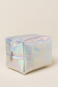 552f147f082 Victoria Iridescent Cosmetic Travel Pouch