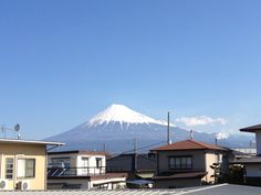 It is sunny today. Mt.Fuji 23-3-2014.3