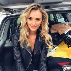 Brooke Hogan || Instagram Brooke Hogan Instagram, Leather Jacket, Warm, People, Model, Jackets, Fashion, Studded Leather Jacket, Down Jackets
