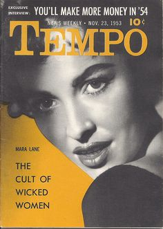 NOV 23 1953 TEMPO MAGAZINE VOL.1 #25 (Mara Lane)