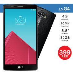 Best Selling Smartphone ★ AED 399   LG G4 - 32GB, 4G LTE, 5.5 inch, 16 MP, 3GB RAM with 3 Months Warranty  Tel ☎️ : 045576800 ➜ WhatsApp 📱: 0551045757  WWW.ASET-UAE.COM #asetuae #dubai #uae #bestseller Mobile Phones Online, Sharjah, Dubai Uae, Daily Deals, 3 Months, Smartphone, Stuff To Buy