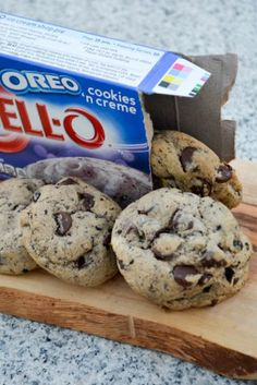 Oreo Pudding Chocolate Chip Cookies - I am a Honey Bee