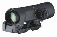 ELCAN (SFOV4-C1 5.56 CX5855 Dual Illuminated Ballistic Crosshair Reticle Red Dot