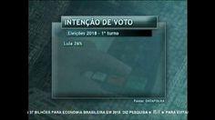 Lula é o favorito nas intenções de voto para as eleições de 2018