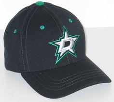 best website 4d4c3 f5343 DALLAS STARS NHL HOCKEY BLACK ELEMENT FLEX FIT FITTED HAT CAP M L NEW   DallasStars