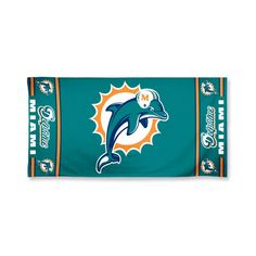 Miami Dolphins NFL Beach Towel