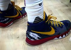 Kyrie Irving Broke Out Some Awesome Nike Kyrie 1 PEs For Media Day - SneakerNews.com