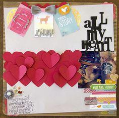 All My Heart *American Crafts* - Scrapbook.com