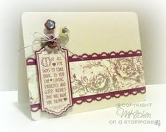 On A Stampage...: A few more cards!