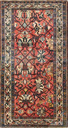"KEIVAN WOVEN ARTS,   Type :Bidjar Origin :Iran  Size : 4'1""x7'7""  Circa :1920"