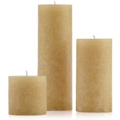 Textured Candle Collection (€5,14) ❤ liked on Polyvore featuring home, home decor, candles & candleholders, filler, colored candles and textured candles