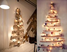 9 ideas de arboles de navidad originales #feliznavidad #merrychristmas #árboles