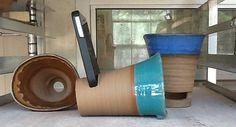 iPhone docking station/speaker by Linda Neubauer Pottery I need one of these!