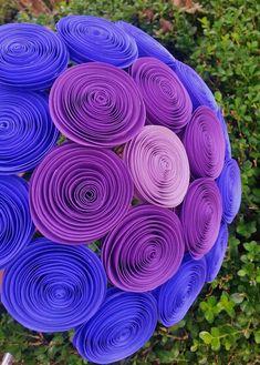 Paper Flower Bouquet - Build Your Own Paper Flower Bridal Bouquet- perfect for weddings, brides, bridesmaids