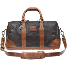 Will Leather Goods Washed Lamb Duffle
