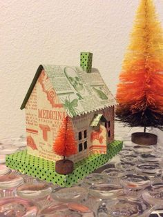 Isa Creative Musings: Re-stocked Vintage Inspired Halloween Houses at A Paris Street Market October 3rd