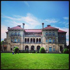 The Breakers in Newport, RI, is an Italian Renaissance Revival by Richard Morris Hunt in 1893