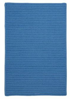 """Simply Home Solids Blue Ice Rug Rug Size: Square 9' by Colonial Mills. $461.99. H870R108X108S Rug Size: Square 9' Features: -Technique: Braided.-Material: 100pct Polypropylene.-Origin: USA.-Reversible.-Stain resistant.-Fade resistant. Construction: -Construction: Hand guided. Dimensions: -Pile height: 0.5"""".-Overall Dimensions: 34-168'' Height x 22-132'' Width x 0.5'' Depth. Collection: -Collection: Simply Home Solid."""