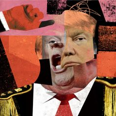 trump angry trump - -angry trump - - The greatest idea for room decoration, make poster or wallpaper with this picture. Collages by Jesse Draxler Dada Collage, Collage Kunst, Collage Artwork, Collage Artists, Picture Collages, Photomontage, Pop Art, Dada Art, Collage Portrait