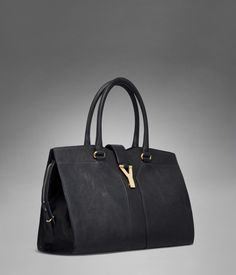 a9836bd037b28 Medium YSL Cabas Chyc in Black Leather - or maybe this.