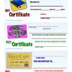 """GIFT CERTIFICATE REWARD PASSES FOR STUDENTS: PDF File Includes 3 Reward Templates for """"Gift Certificates""""  2 are for Students to select a Scholasti..."""