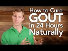 How to Eliminate Gout Symptoms in 24 hours Naturally - Gout is caused by too much uric acid in the blood. Most of the time, having too much uric acid isn't harmful. Many people with high levels in their blood never get gout. How To Treat Gout, How To Cure Gout, How To Prevent Gout, Home Remedies For Gout, Natural Remedies For Gout, Herbal Remedies, Natural Healing, Arthritis Remedies, Natural Remedies