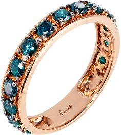 Annoushka Dusty Diamonds 18kt Rose-Gold and #Diamond Eternity Ring - for Women