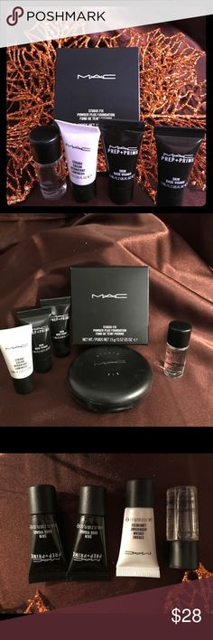 MAC studio fix powder plus foundation 👸🏼🤳🏻 Full size MAC studio fix powder plus foundation in shade N4. Brand new never opened. Including the samples showing for free! MAC Cosmetics Makeup Foundation