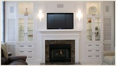 Custom built entertainment centers designed with your needs in mind. Contact NewSpace Interiors in St. Louis, MO today by calling (314) 423-3200.