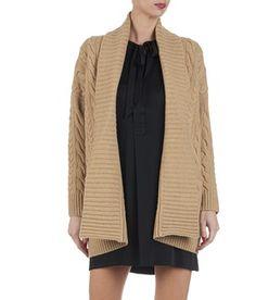 E-boutique Gilet En Laine Avec Torsades Beige Polo Ralph Lauren femme    Place des da3f8b930e3