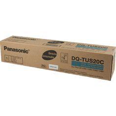 Panasonic DQ-TUS20C Original Cyan Toner Cartridge. http://planettoner.com/panasonic/panasonic-dq-tus20c-original-cyan-toner-cartridge