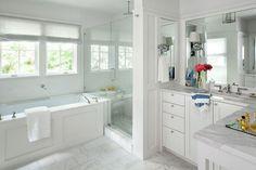 Pretty, pretty bathroom  desire to inspire - desiretoinspire.net - Tim CuppettArchitects