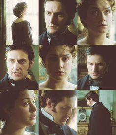 """""""l don't wish to possess you. l want to marry you because l love you.""""  Best period piece.  Ever."""