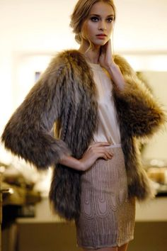 To Much Fun  more fur fashion design inspirations at http://yukon-fur.com/Fur_Coat_Inspiration.html
