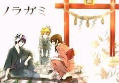 Yato, Yukine & Hiyori || Noragami