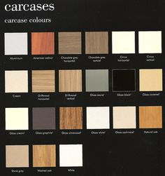 Colours Of Various Carcase's. Like the American Walnut, Real Oak and Washed Oak Loft Bathroom, American Walnut, Grey Stone, Wall Tiles, Tile Floor, Colours, Flooring, Design, Room Tiles